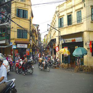 Old Quarters Hanoi Vietnam